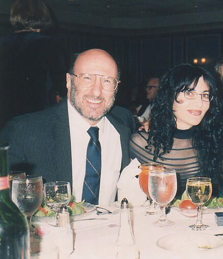 08With Professor Walter Block at a Mises Institute event, in 2002